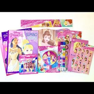 Princess Learning & Color Stationary 10 Piece Set